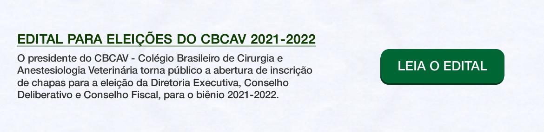 Edital CBCAV 2021-2022